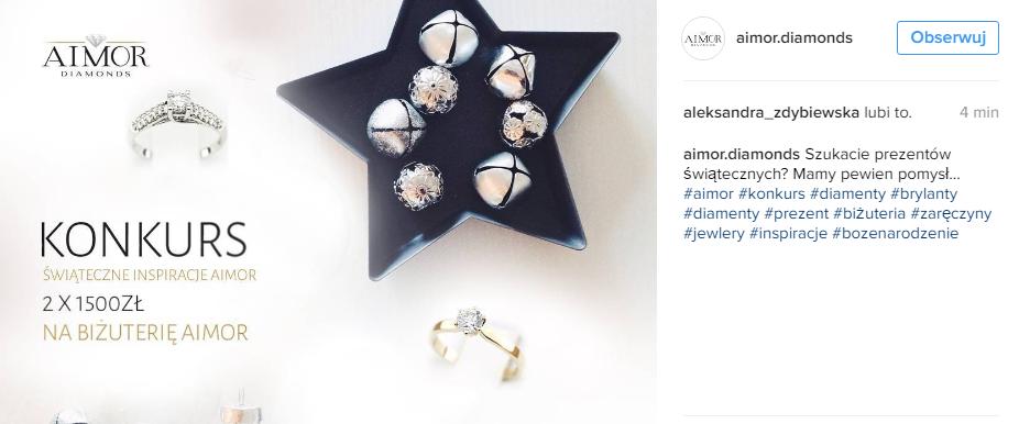 konkursy na instagramie