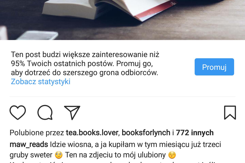 promowanie na instagramie