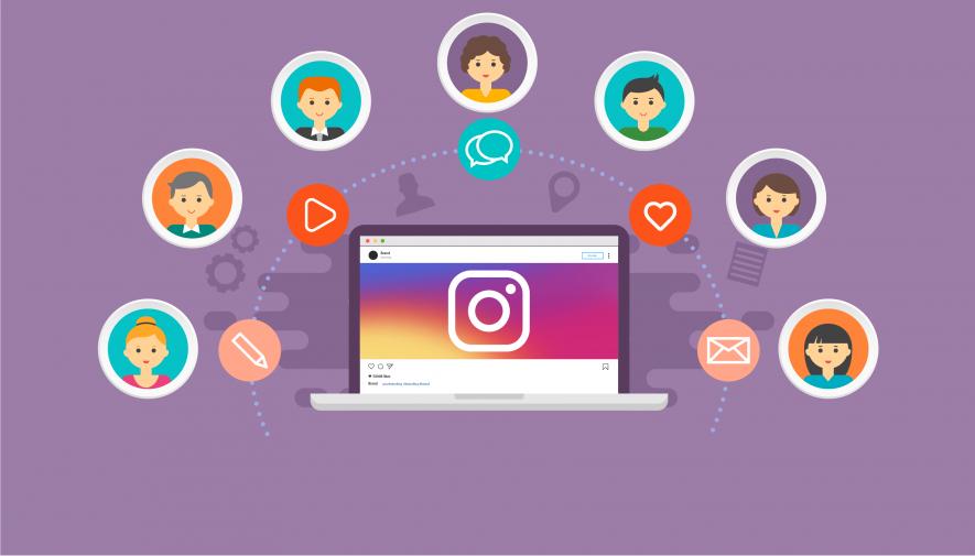zapisanie danych na instagramie